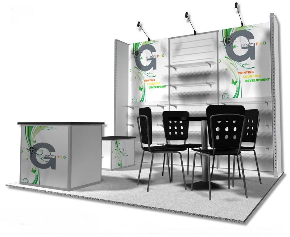 10x10 rental exhibit global psd