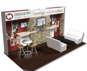 trade show rental booth 10x20