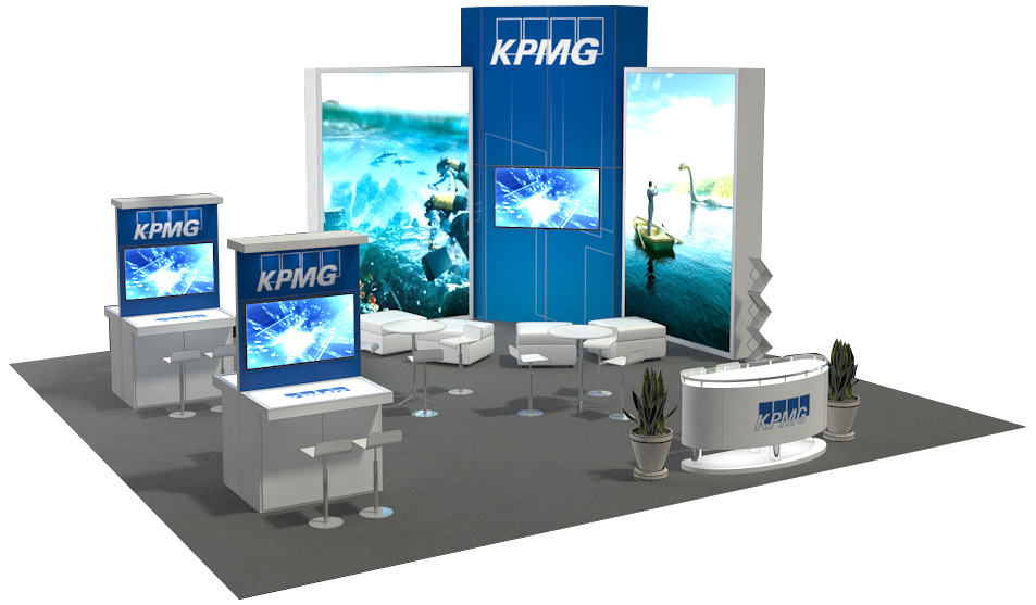 kpmg trade show exhibit rental