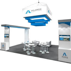 trade show booth rental 20x30