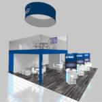 30x30 trade show rental exhibit
