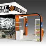 trade show exhibit rental 20x30